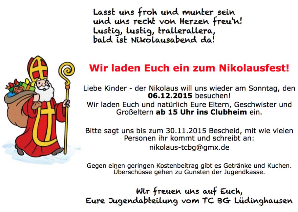 Nikolausfest 2015