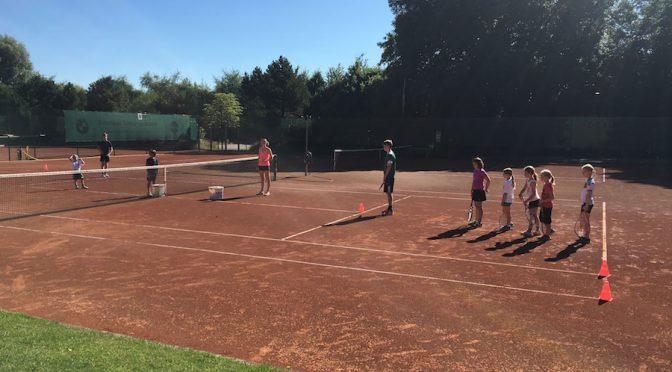 Tolles Tenniscamp
