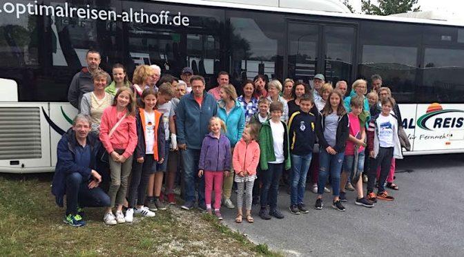 Fahrt nach Halle